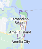 Map of Fernandina Beach