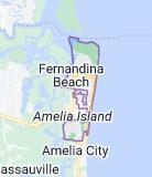 Map of Fernandina Beach