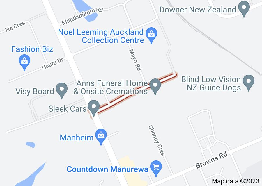 Location of Bolderwood Place