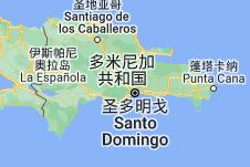 Location of 多米尼加