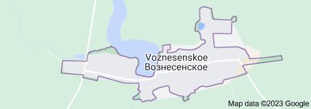 Location of Вознесенское