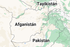 Location of Afganistán