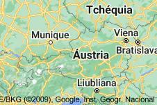 Location of Áustria