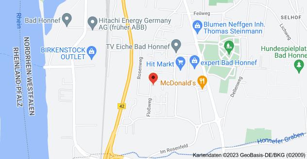 Karte von Floßweg 73, 53604 Bad Honnef