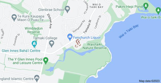 Location of Kestrel Place