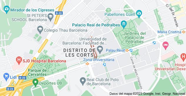 Mapa de Carrer de l'Alfambra, 08034 Barcelona, España