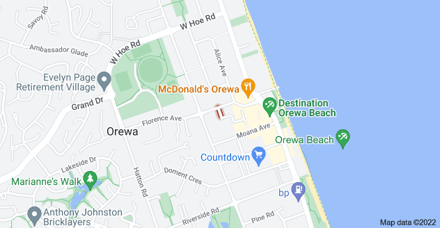 Location of George Lowe Place
