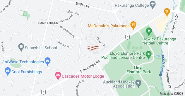 Location of Countess Lane