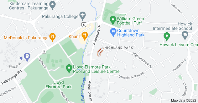 Location of Tyndrum Place