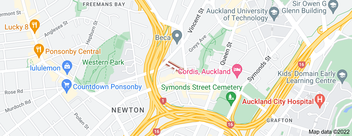 Location of Beresford Square
