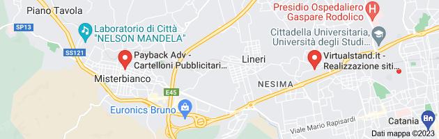 Mappa di: creazione siti web catania