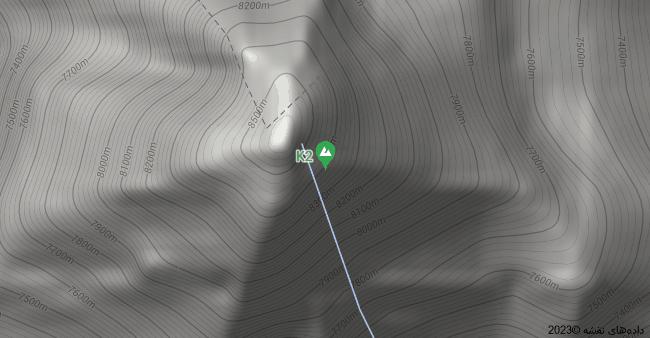نقشه K2