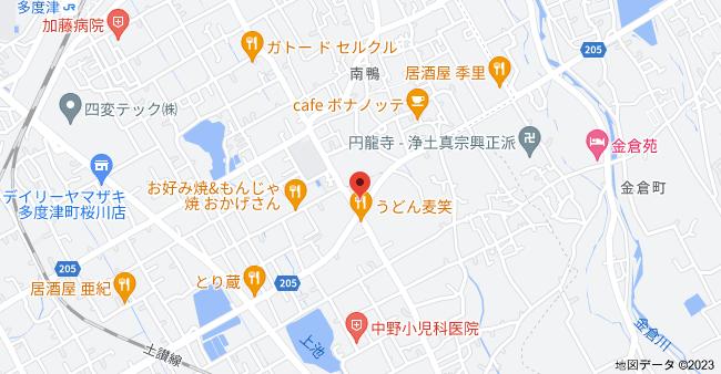 〒764-0028 香川県仲多度郡多度津町葛原967−1の地図