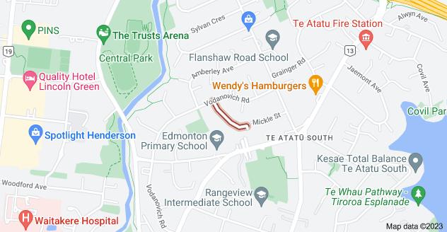 Location of Mackenzie Street