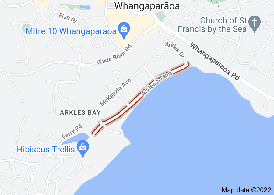 Location of Arkles Strand