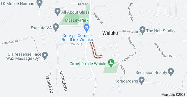 Location of Brookesmith Drive