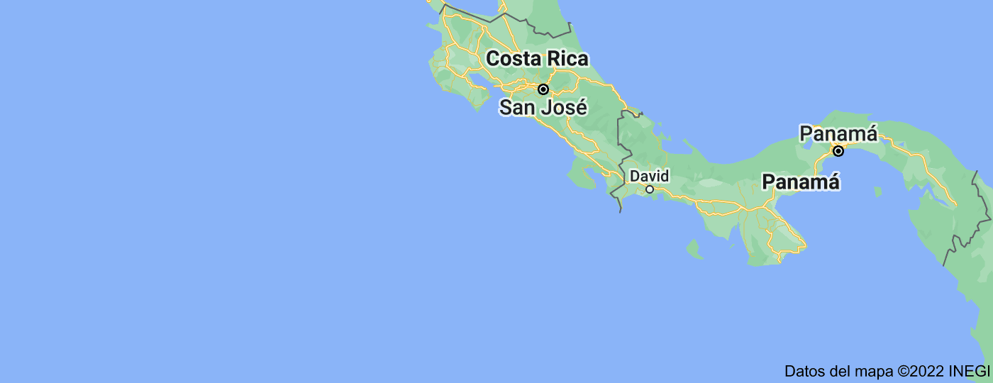 Location of Costa Rica