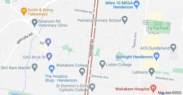 Location of Rathgar Road