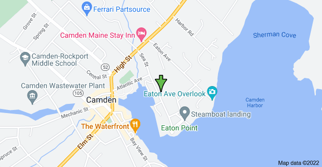 Map of 26 Sea St, Camden, ME 04843