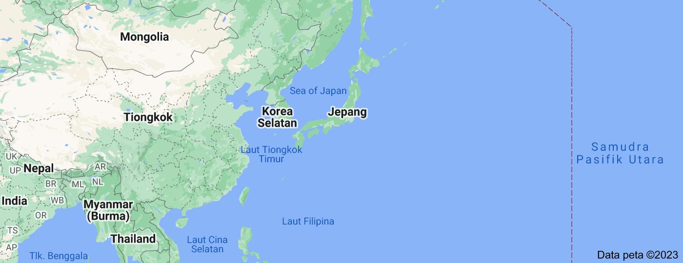 Location of Jepang