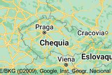 Location of República Checa