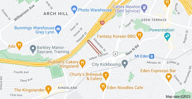 Location of Buchanan Street