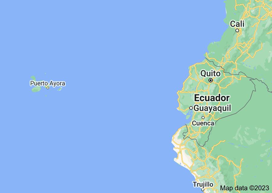 Location of Ecuador