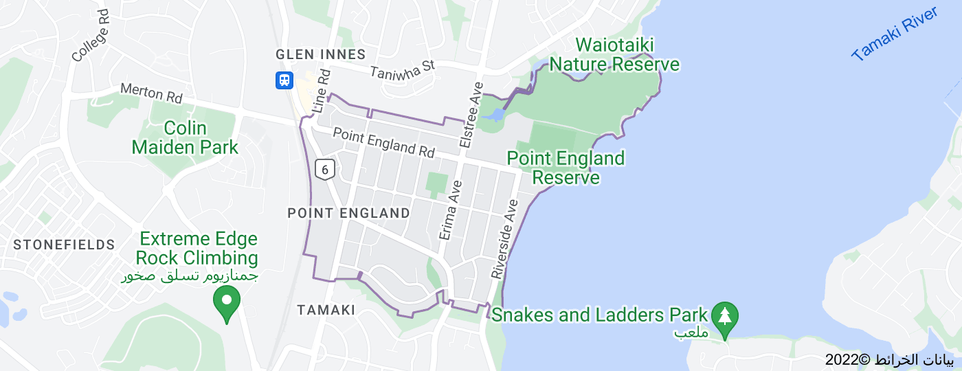 Location of بوينت انجلاند