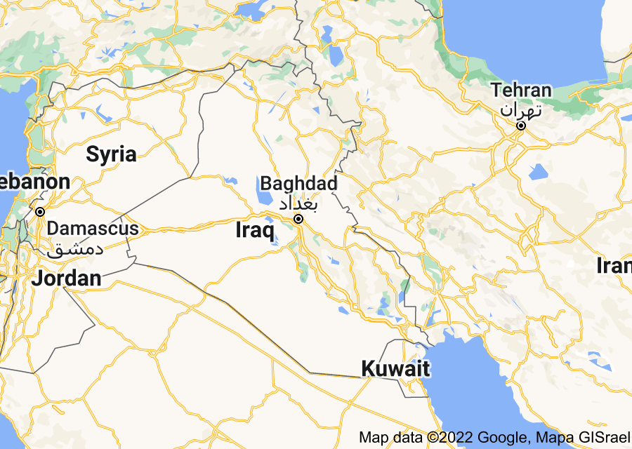 Location of Mesopotamia