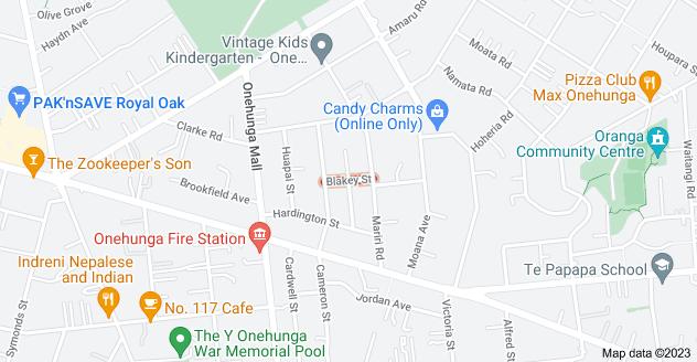 Location of Blakey Street