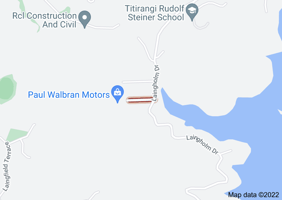 Location of Brownie Road