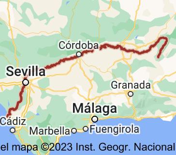 Mapa de Río Guadalquivir