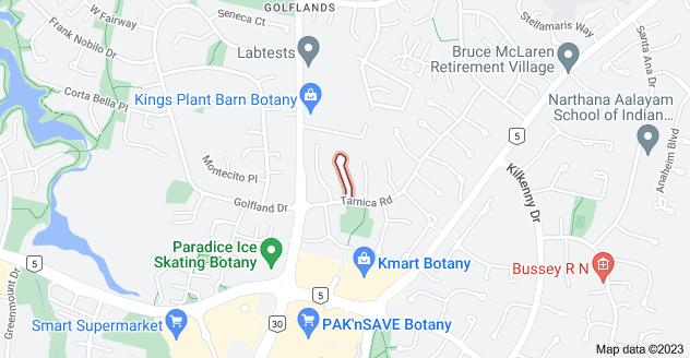 Location of Arrathorne Place