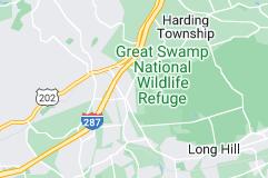 Location of Basking Ridge