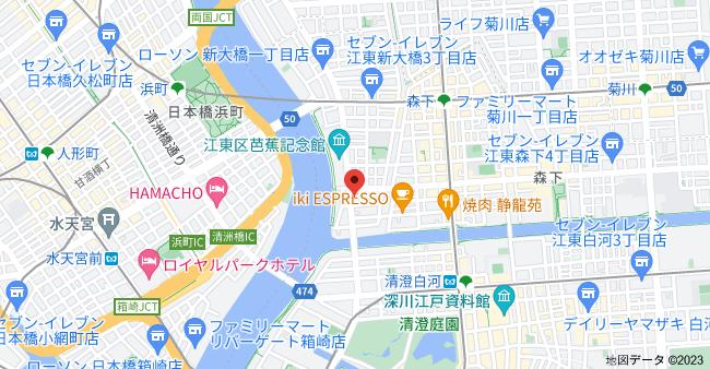 〒135-0006 東京都江東区常盤1丁目15−1の地図