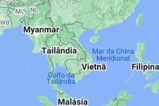 Location of Vietnã