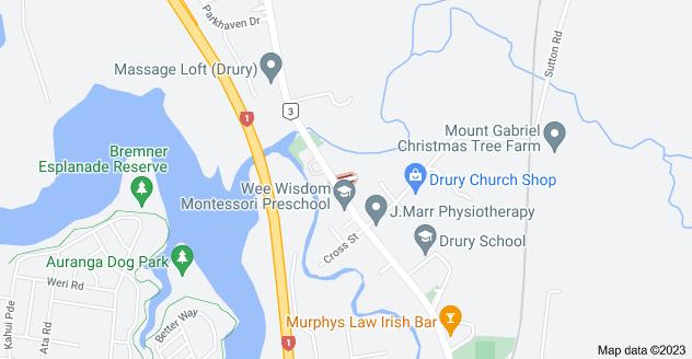 Location of Miro Street