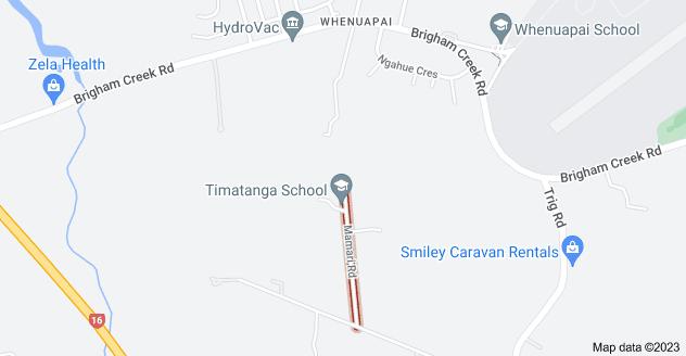 Location of Mamari Road