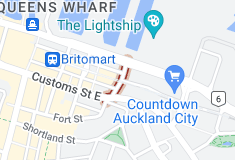 Location of Britomart Place