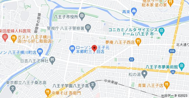 〒192-0051 東京都八王子市元本郷町2丁目2−16の地図