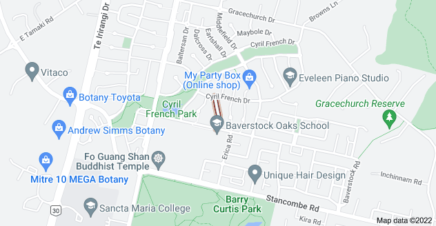 Location of Stornaway Drive