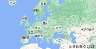 Location of 欧洲