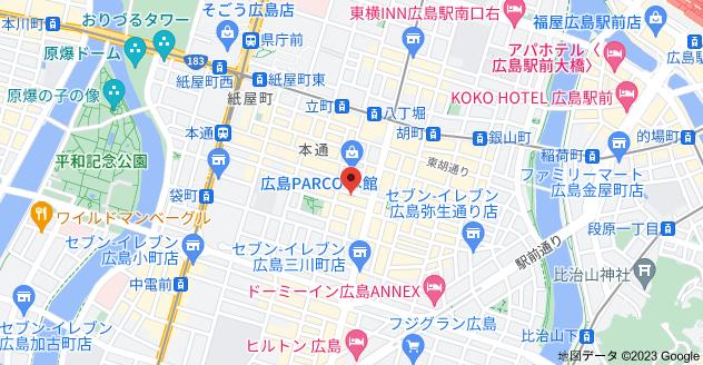 〒730-0034 広島県広島市中区新天地5−13の地図