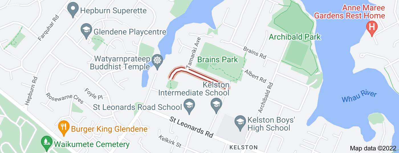 Location of Nile Road