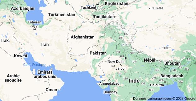 Pakistan: carte