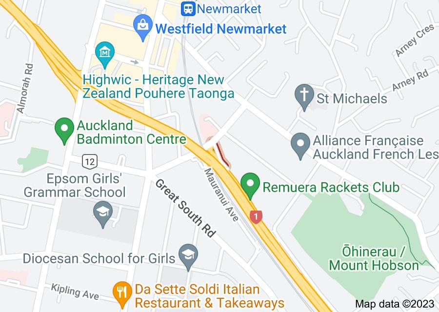 Location of Robert Hall Avenue