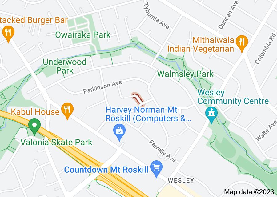 Location of Shearer Street
