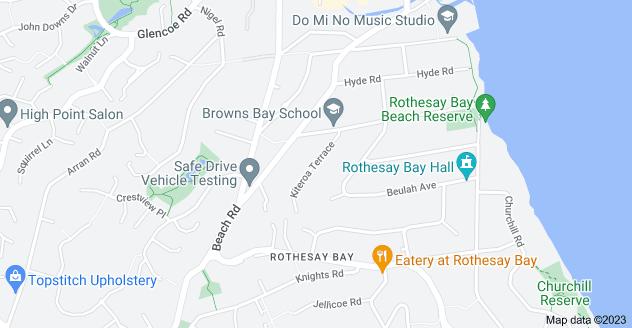 Location of Kiteroa Terrace