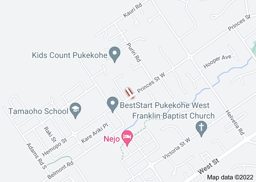 Location of West Palms Way