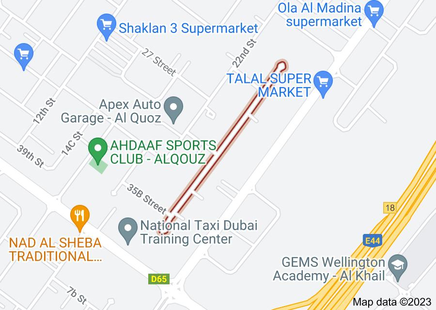 Location of 24B Street